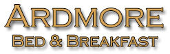 Ardmore Bed & Breakfast, Ardmore, Co. Waterford, Ireland. Bord Failte Approved Four Star Bed & Breakfast.
